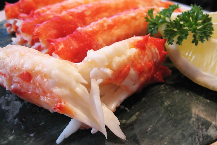 Краб камчатский (мясо 1-ая фаланга) 10-12 см