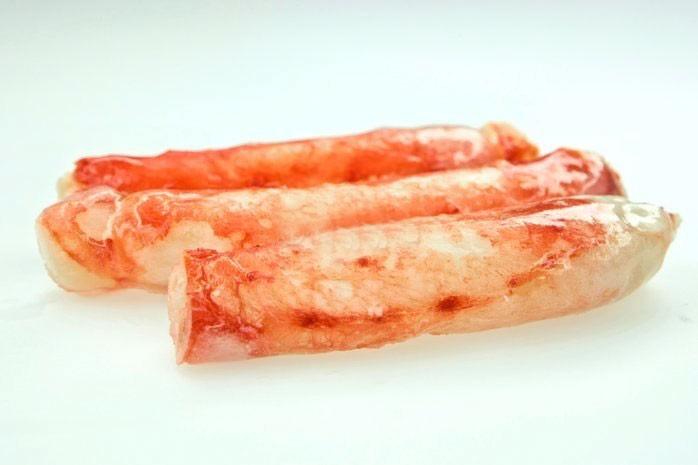 Краб камчатский (мясо 1-ая фаланга) 8-10 см