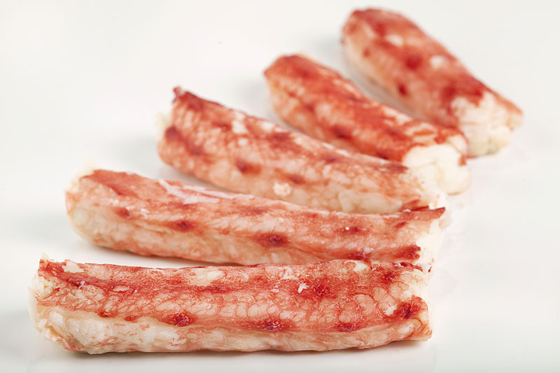 Краб камчатский (мясо 1-ая фаланга) 6-8 см